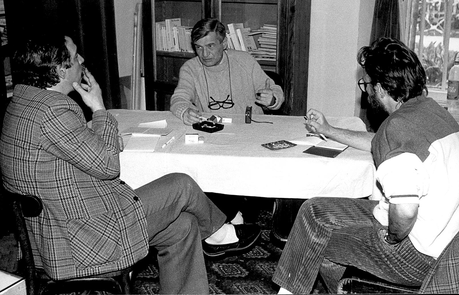 1992. Cu Florin Toma și Petru Creția