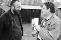 Anii '90. La Desești, cu profesorul Andrei Făt