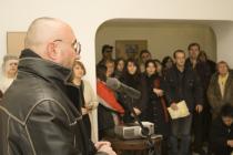 Vernisajul unei expoziții de fotografie la Palatul Mogoșoaia