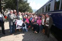 Mai 2008. Trenul Regal a oprit �ntr-o gară� Leo Butnaru, Dan Mircea Cipariu, Ioana Crăciunescu, Ioan Groșan�
