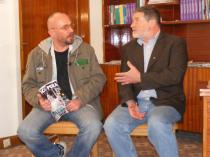 Cu Cristian Lascu, la sediul Comisiei Naționale a Rom�niei pentru UNESCO