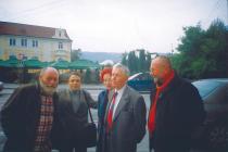 2008. La Sighetul Marmației, cu Ion Mureșan, Ion Maria, Gheorghe Grigurcu