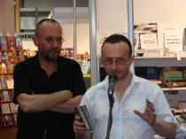 2010, T�rgul de Carte Bookfest. Cu Felix Nicolau, la lansarea volumului Institutul de Poezie Legală