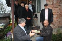 2010, la Desești. Decernarea Marelui Premiu Nichita Stănescu al Serilor de Poezie de la Desești. Cu Gheorghe P�rja și Gheorghe Grigurcu