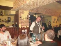 2013. Bucureşti. Lectură de poezie şi degustare de vinuri