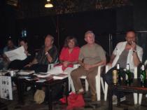2013. Club A. Cu Octavian Soviany, Dan-Silviu Boerescu, Mihail Gălăţanu, Nicolae Tzone şi Ioan Es. Pop