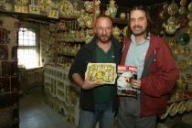 Rădăuți, Suceava. Atelierul de ceramică al lui Florin Colibaba