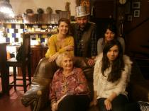 Cu Miruna, Mirela, mama şi Clara