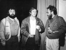 1990. Cu Alexandru Vlad și Mircea Nedelciu