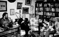 1992. Cu Florin Toma și Constantin Bălăceanu Stolnici