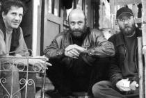 Anii '90. La Desești, cu Paul Vinicius și Călin Angelescu